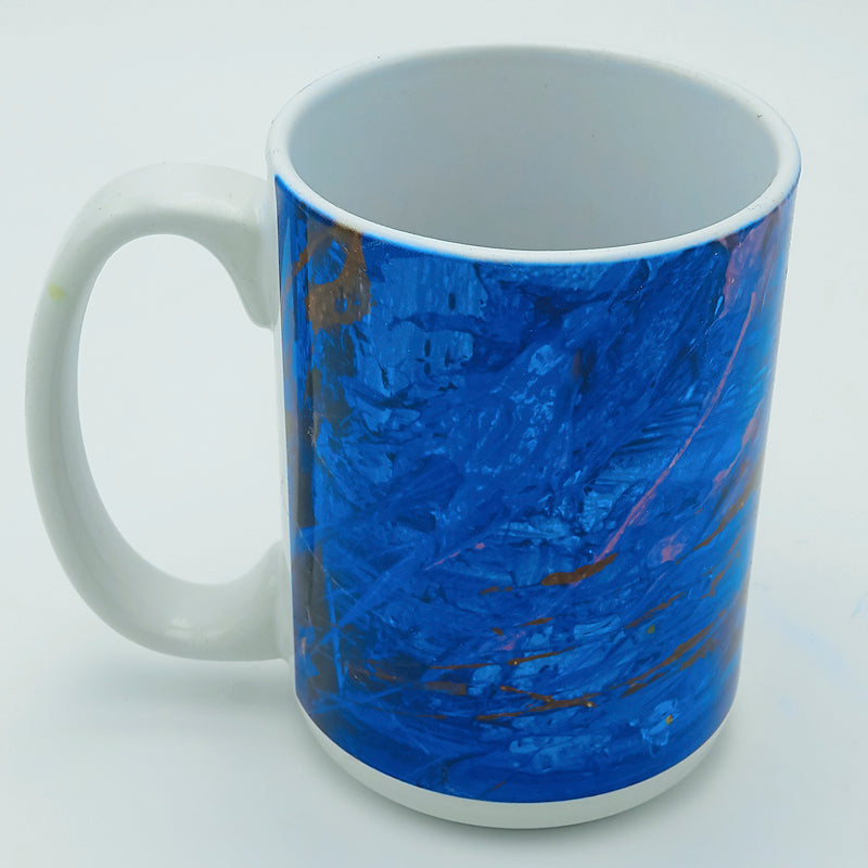 Gold Splatter 11 ounce Mug