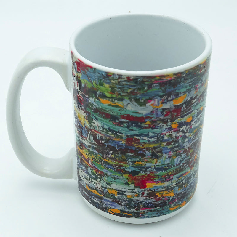 Green Waterfall 11 ounce Mug