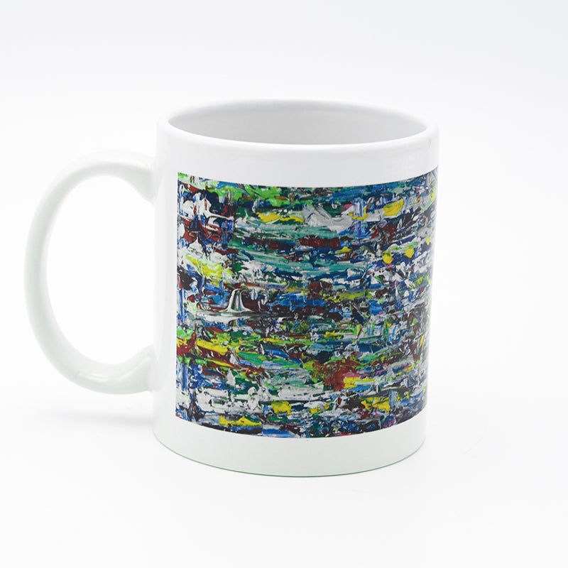 Green Waterfall 8 ounce Mug