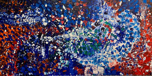 North Wind- 48x102 inches oil on canvas, 2020: Covid 19 Pricing Limited Time