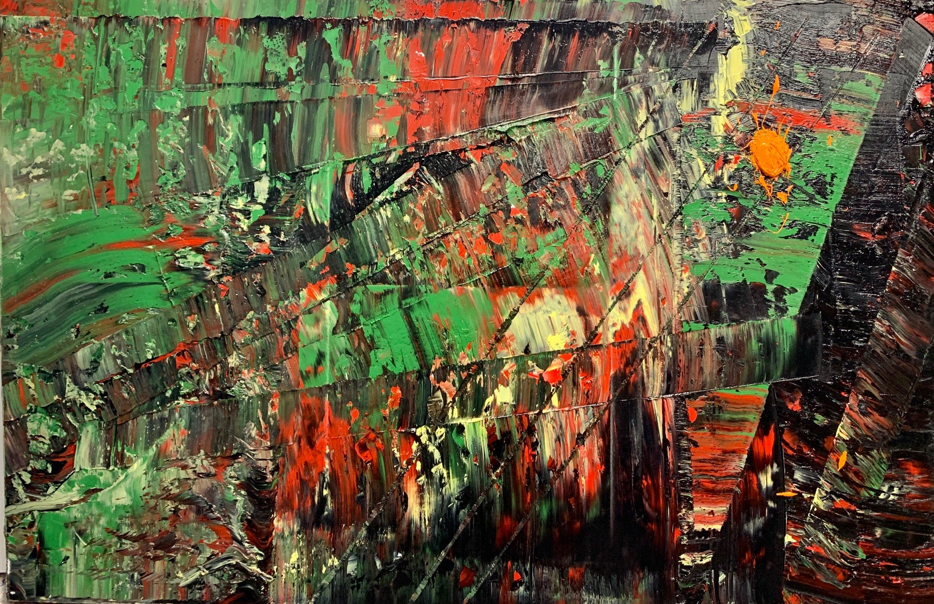 Niam  - 40x60 inches oil on canvas, 2020: ( Special covid pricing)
