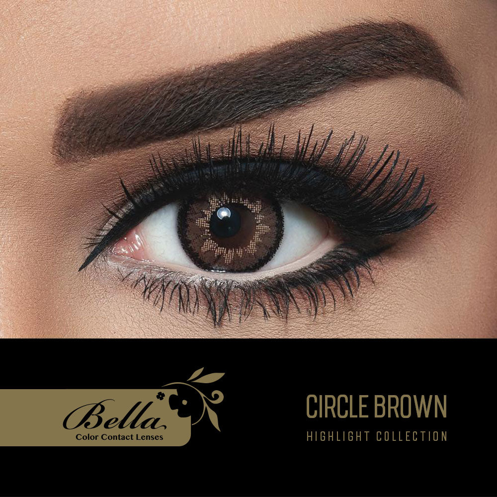 Highlight Circle Brown