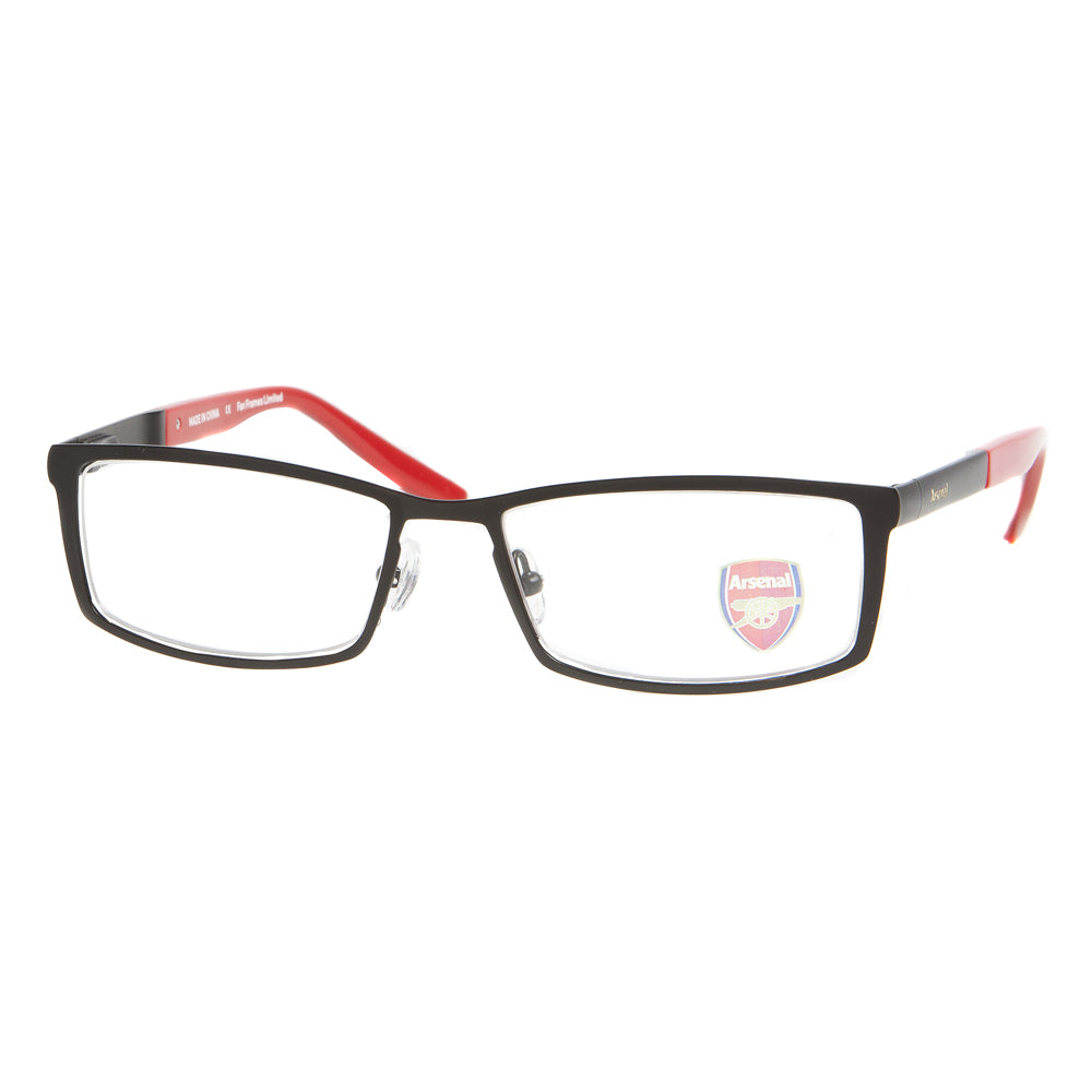 Arsenal fc mens & womens metal glasses frame