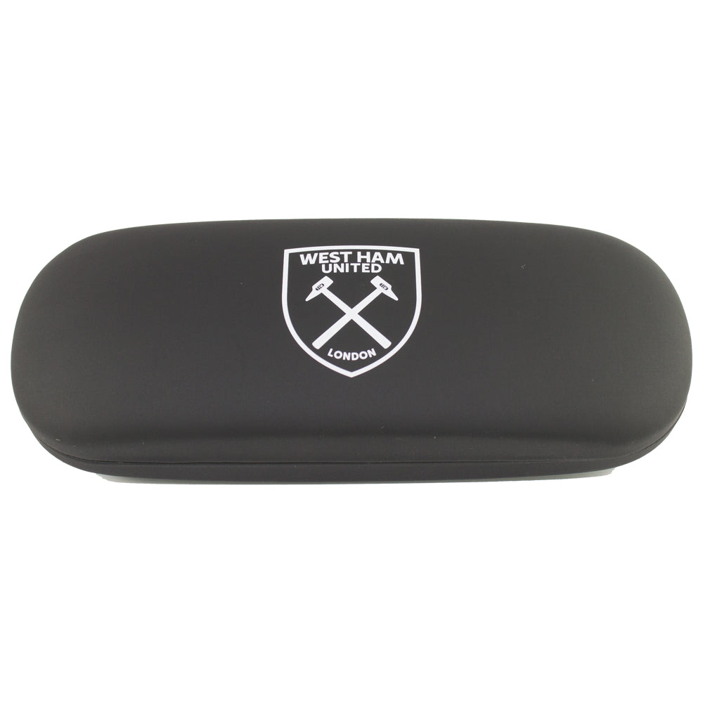 West ham united glasses case & cloth