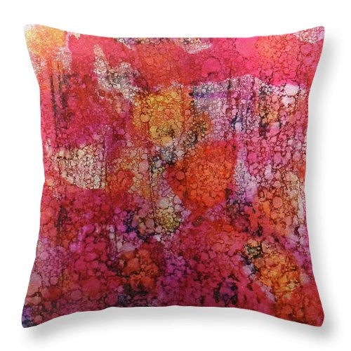 Sangria Ink #16 - Throw Pillow