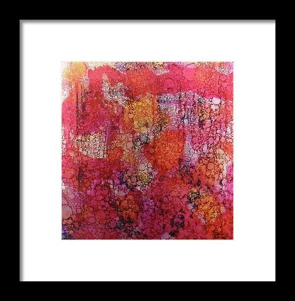 Sangria Ink #16 - Framed Print