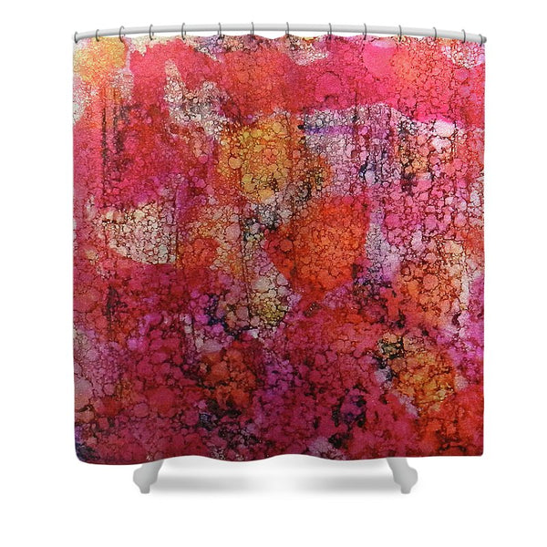 Sangria Ink #16 - Shower Curtain