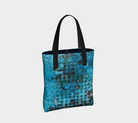 Cerulean Dream Ink #23 Tote Bag