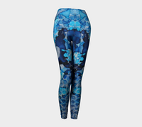 Beekeeper Blues Ink #13 Yoga Leggings
