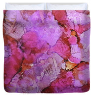 Blossoms Ink #1 - Duvet Cover