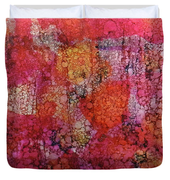 Sangria Ink #16 - Duvet Cover