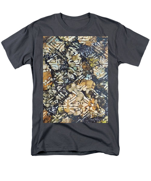 Bark Batik Ink #22 - Men's T-Shirt  (Regular Fit)