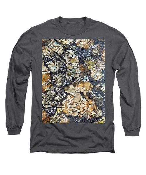 Bark Batik Ink #22 - Long Sleeve T-Shirt