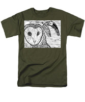 Barn Owls - Men's T-Shirt  (Regular Fit)