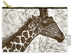 Giraffe Pirate King - Carry-All Pouch
