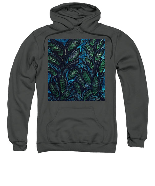 Green Leaves And Blue - Sweatshirt