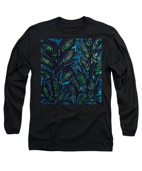 Green Leaves And Blue - Long Sleeve T-Shirt