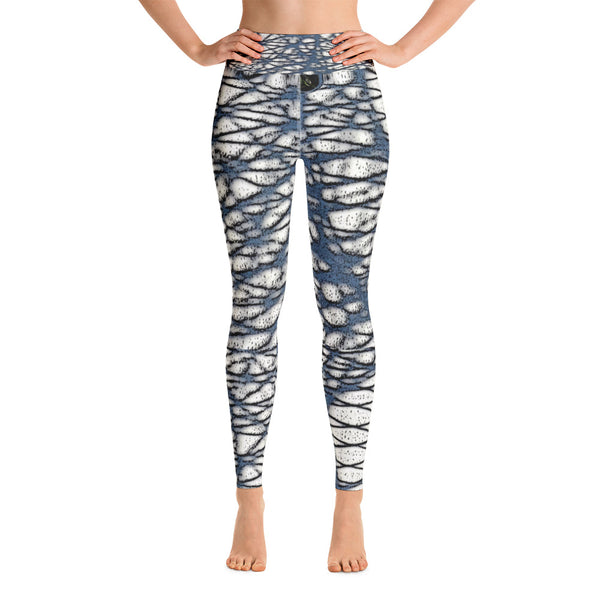 Wicker Shadows Yoga Leggings