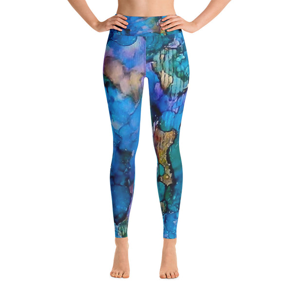 Twilight Recall Ink #20 Yoga Leggings