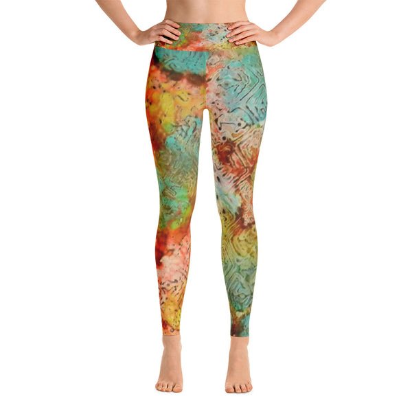 Paprika Drift Ink #18 Yoga Leggings