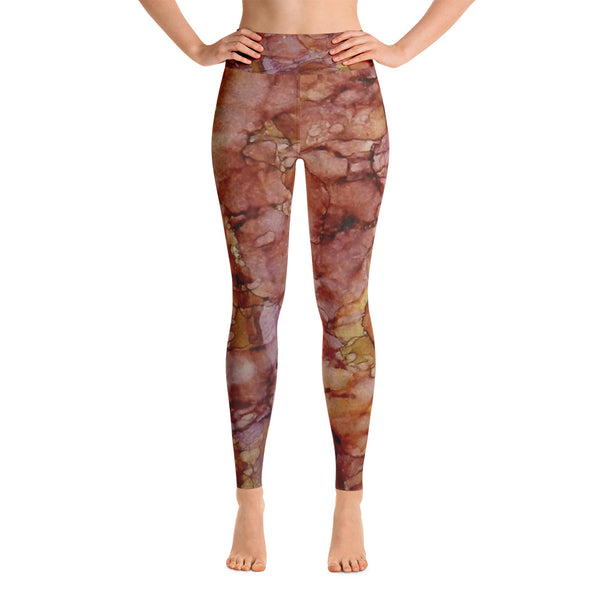 Pomegranate Lemonaid Ink #15 Yoga Leggings