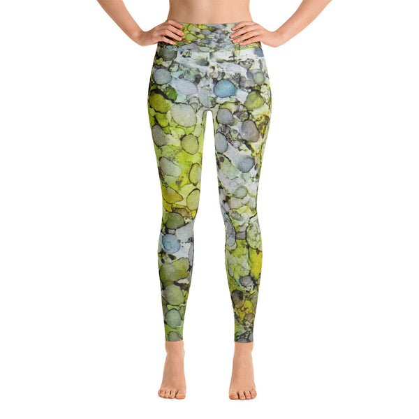 Vernal Showers Ink #12 Yoga Leggings