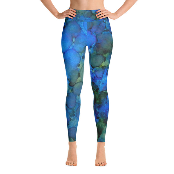 Summer Lake Ink #5 Yoga Leggings