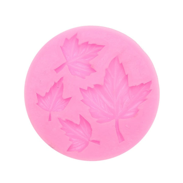 3D Maple Leaf Silicone Mold