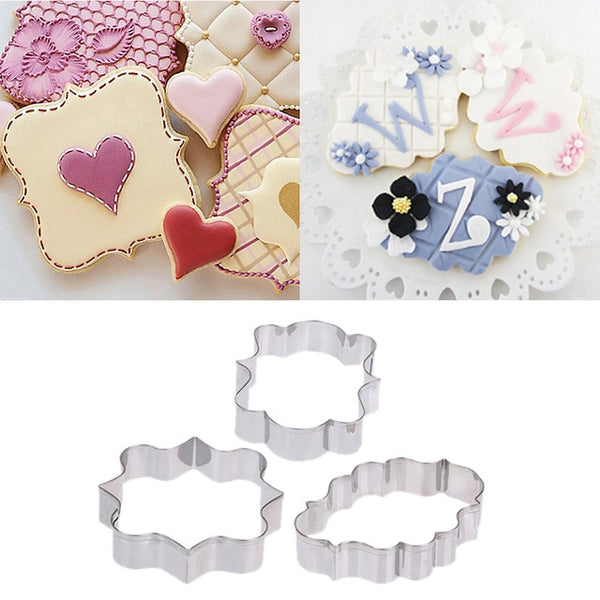 3/4/6Pcs Cookie Cutters Stainless Steel