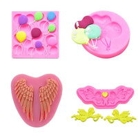 3D Silicone Mold Balloons Angel Wing