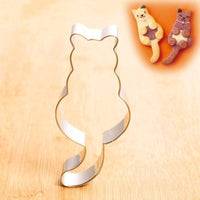 Cat Cookie Cutter Stainless Steel