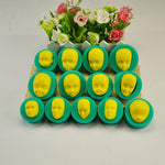 13 Pcs 3D Dolls Face Silicone Mold
