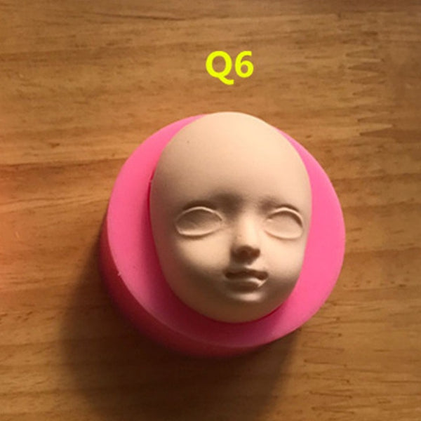 3D  Doll Silicone Molds