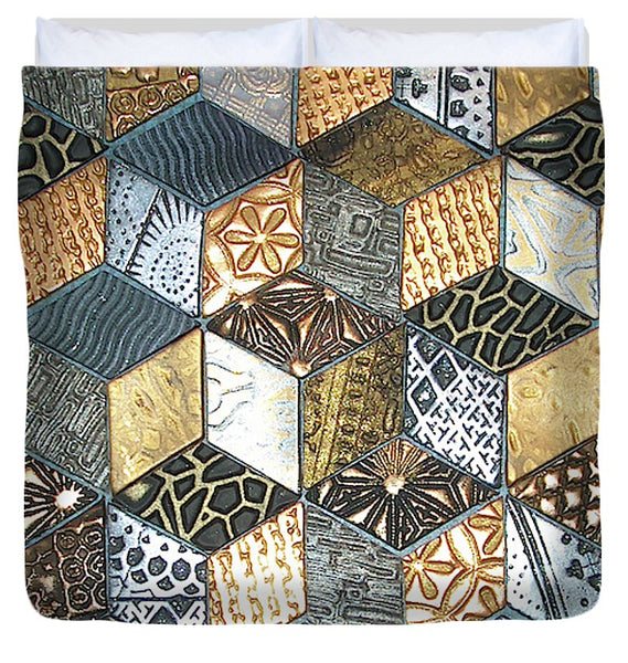 Tumbling Blocks #1 - Duvet Cover