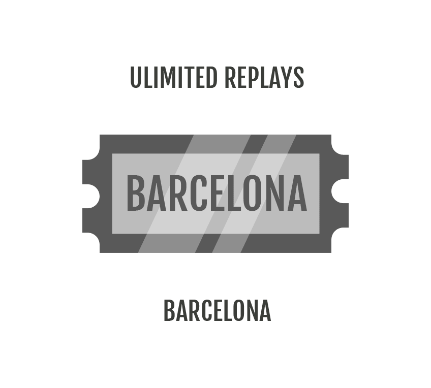 Unlimited Replays - Geek Out Barcelona
