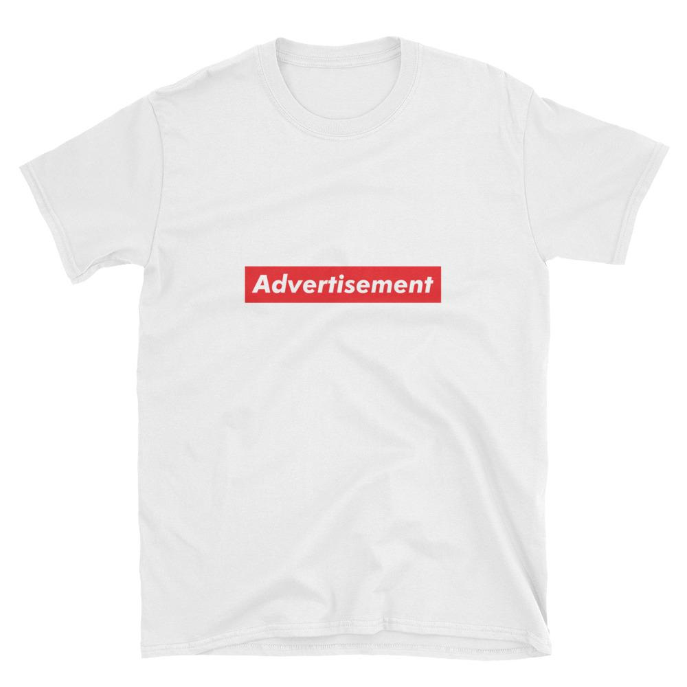 Advertisement White T-Shirt