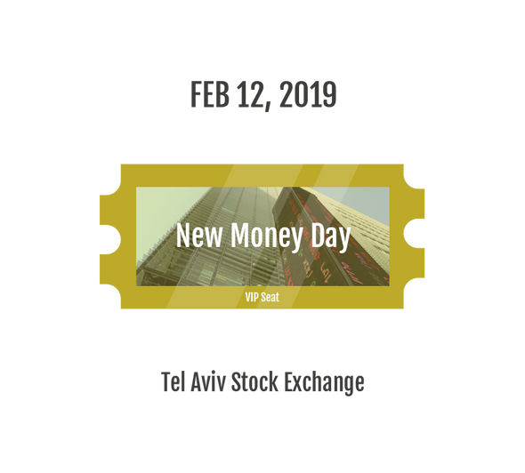 Attend Live: New Money Day - VIP Seat