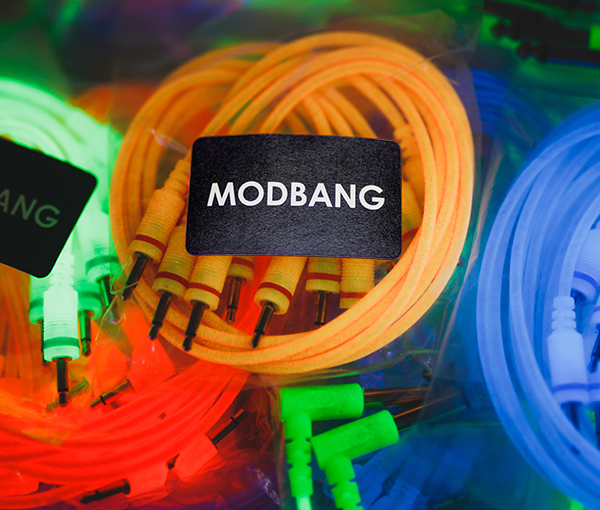 Modbang Glow-in-the-dark Patch Cables