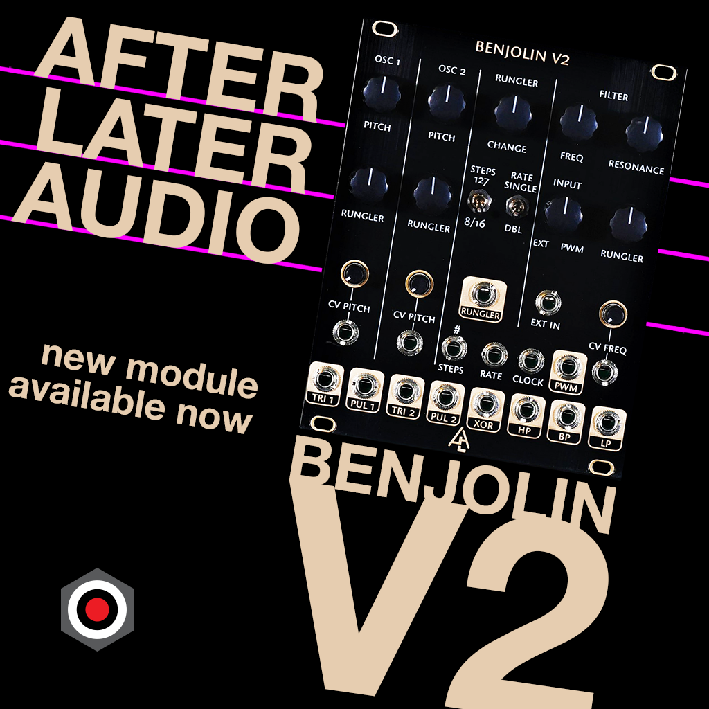 After Later Audio Benjolin V2 in stock