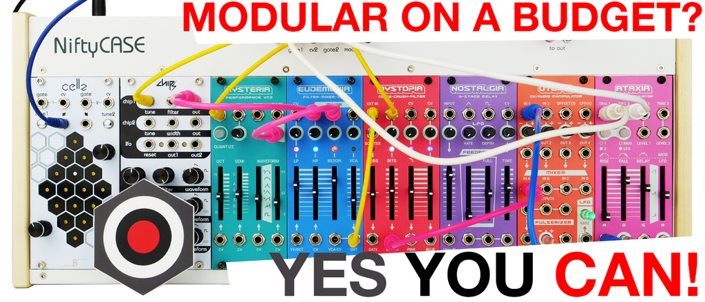 Modular on a budget?  Yes you can!