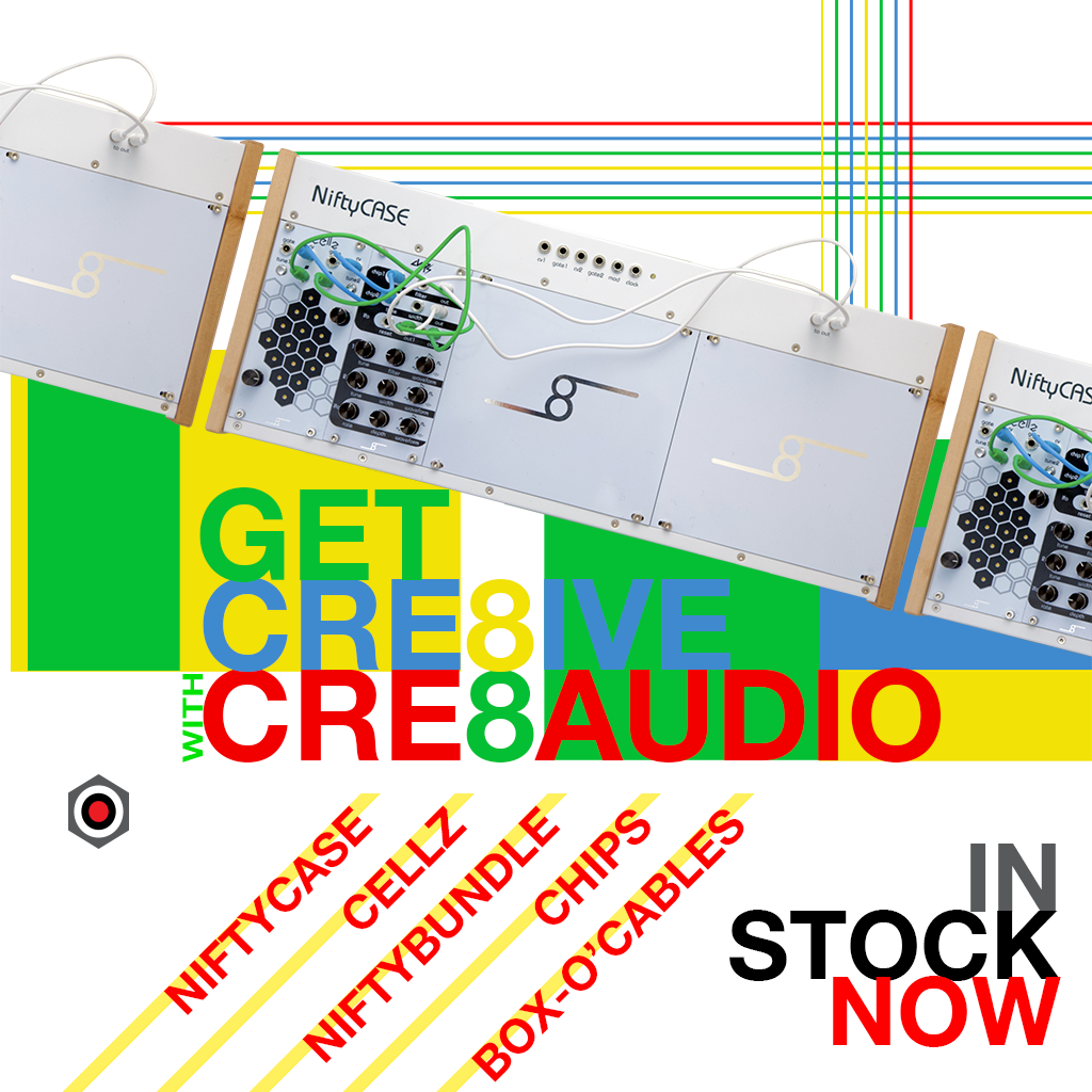 Get creative with Cre8audio