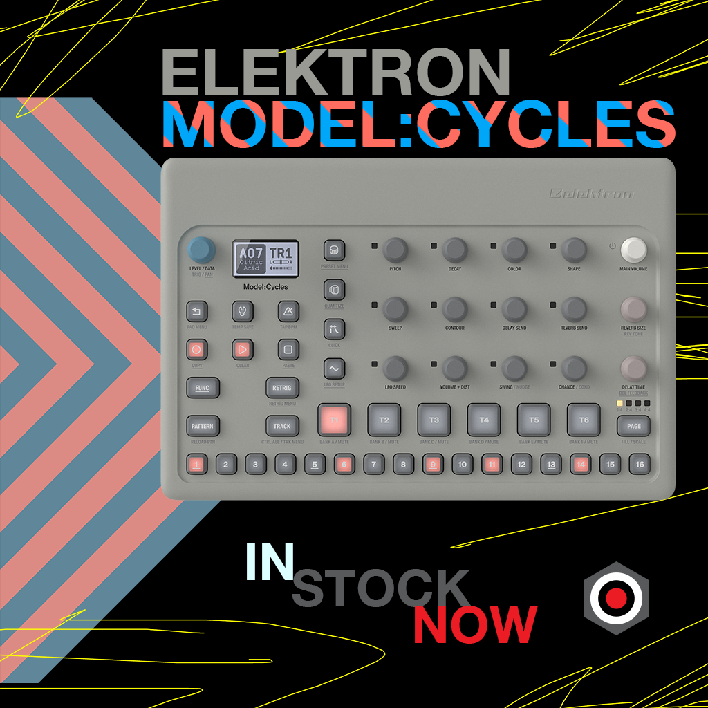 Elektron Model:Cycles in stock now!
