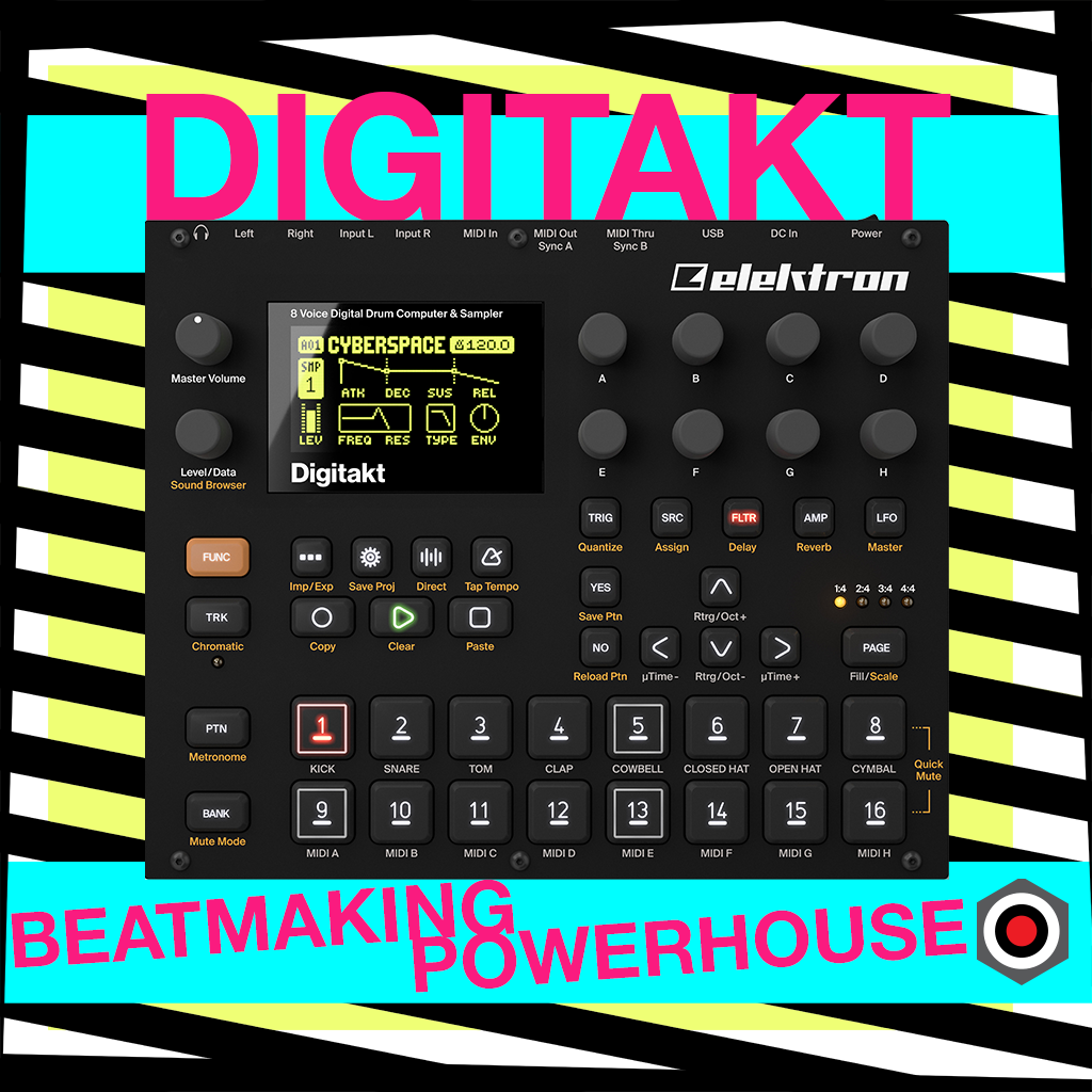 Elektron Digitakt - beatmaking powerhouse!