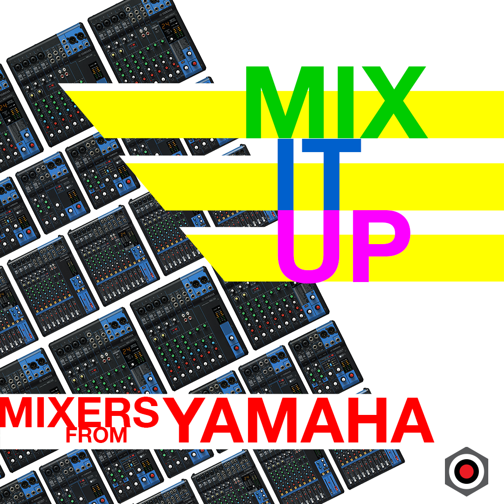 Mix it up with mixers from Yamaha.  Shop now