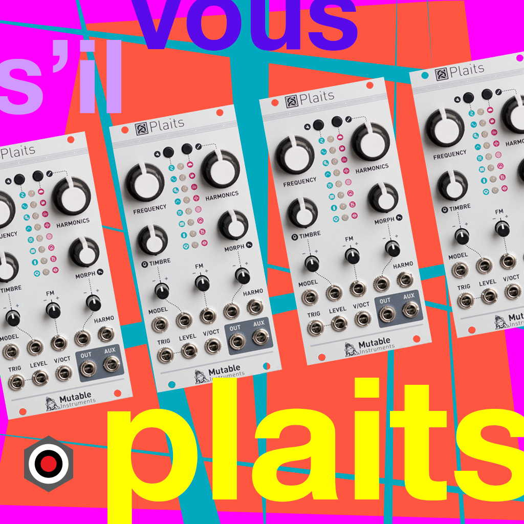 Mutable Instruments Plaits in stock!