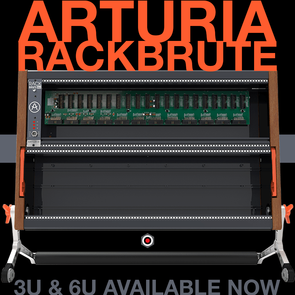 Arturia Rackbrute Eurorack Enclosures Available Now