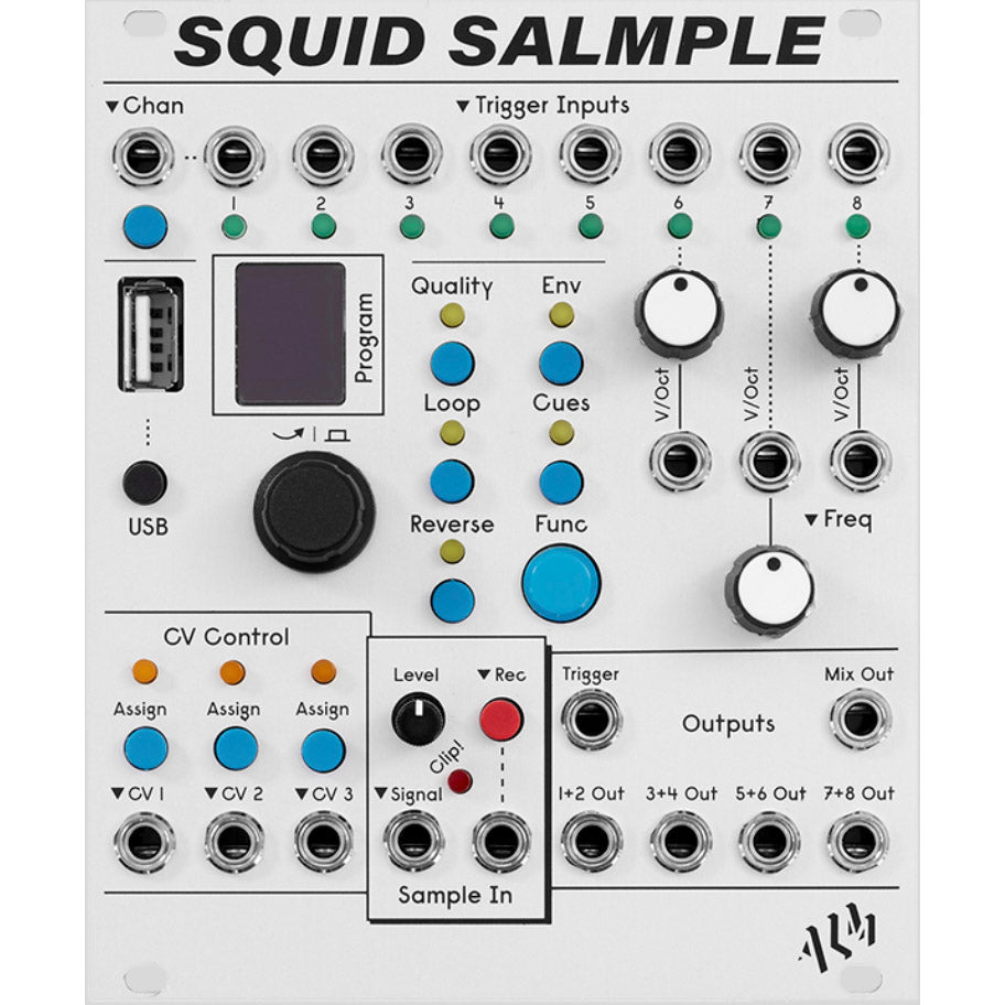 ALM Busy Circuits ALM022 Squid Salmple (Open Box)
