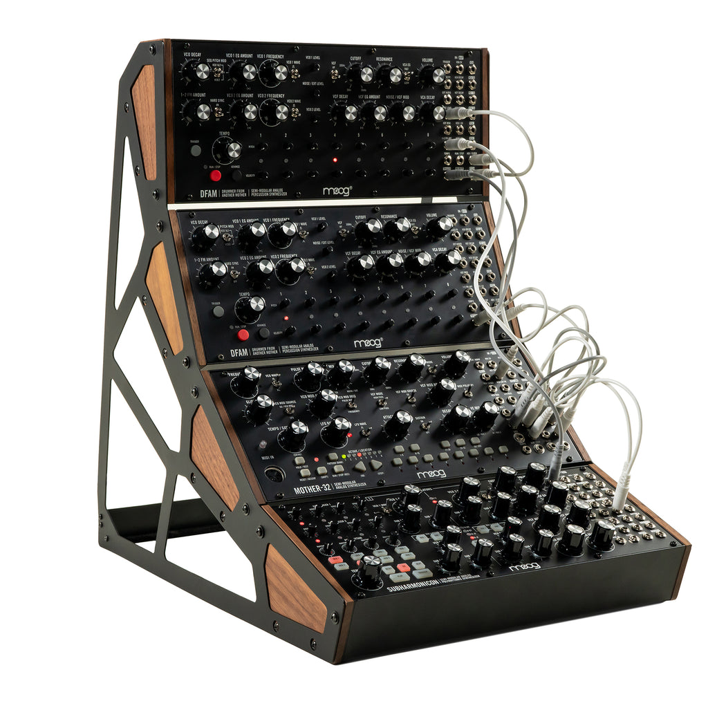 Moog Music Semi-Modular 4-Tier Rack Stand