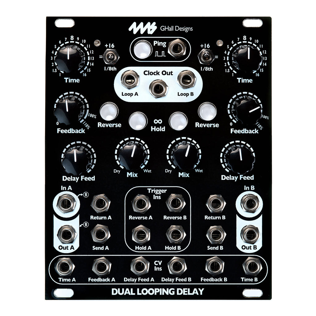 4ms Company Dual Looping Delay (DLD) Limited Edition Black Panel