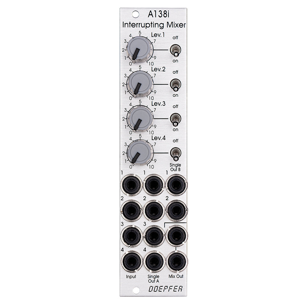 Doepfer A-138i Mixer with Mutes